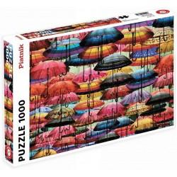 Puzzle - Colorful Umbrellas (1000pc)