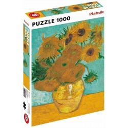 Puzzle - Van Gogh Sunflowers (1000pc)