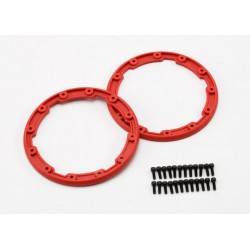 Sidewall protector, beadlock style (red) (2)