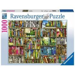 Ravensburger Puzzle - Magic bookshelf -1000pc