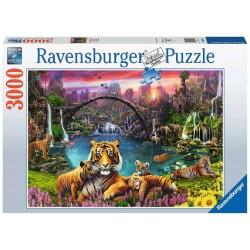 Ravensburger Puzzle - Tiger in a paradisiacal lagoon - 3000p