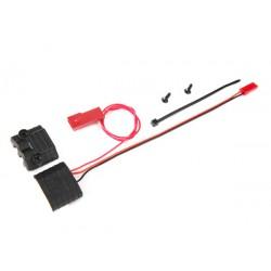 Connector, power tap (w/ voltage sensor) wire tie/2.6x8 (2)