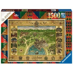 Ravensburger Harry Potter Hogwarts Map 1500pc