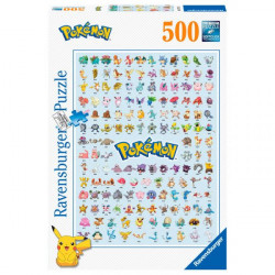 Ravensburger Puzzle - Pokemon - 500pc