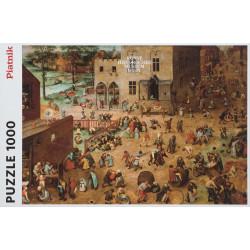 Puzzle - Bruegel childrens games (1000pc)