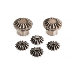 Gear set, rear differential (output gears (2)/ spider gears)