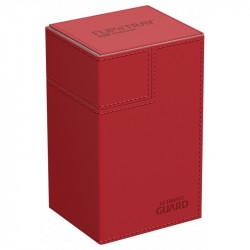 Flip n Tray Deck Case 80+ Standard Size Xenoskin Red