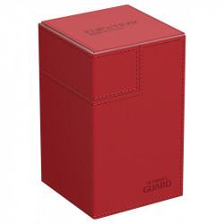 UG Flip n Tray Deck Case 100+ Standard Size Xenoskin Red