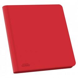 Ultimate Guard Zipfolio 480 24-Pocket Xenoskin Quadrow Red