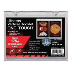 Vertical Booklet Card Holder - UV ONE-TOUCH
