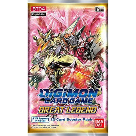 Digimon Card Game Great Legend Booster BT04