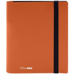 UP 4 Pocket Pro-Binder Portfolio - Eclipse Pumpkin Orange