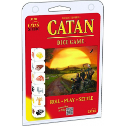 Catan Dice Game- Clamshell