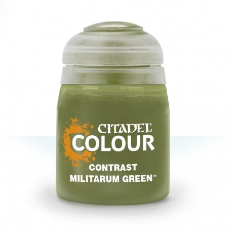 29-24 Citadel Contrast: Militarum Green