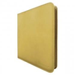 UP - 12-Pocket Zippered PRO-Binder - Yellow
