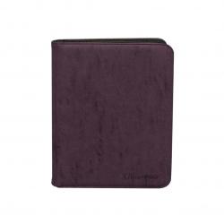 UP - Zippered Suede 9-Pocket Premium PRO-Binder - Amethyst