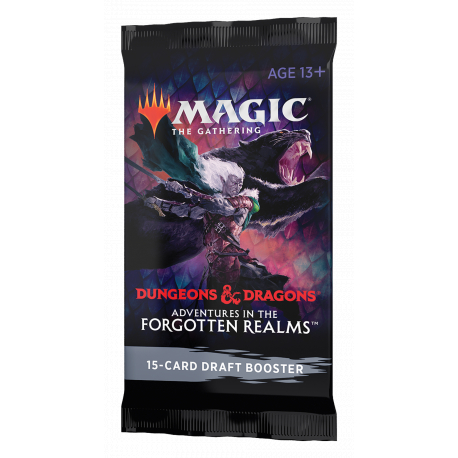 MTG D&D Adventures in the Forgotten Realms Draft Booster