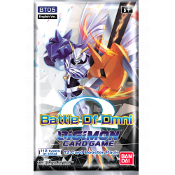 Digimon Card Game Battle of Omni Booster BT05