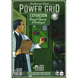 Power Grid Recharged (2nd Edition) Brazil/Spain & Portugal