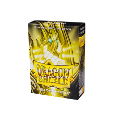 Dragon Shield Matte Small Sleeves - Yellow (60 Sleeves)