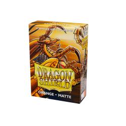 Dragon Shield Matte Small Sleeves - Orange (60 Sleeves)