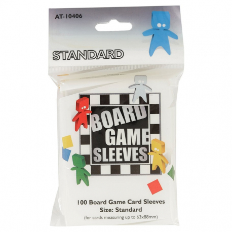 Standard Board Game Sleeves 63x88 (100)