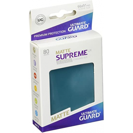 U.Guard Supreme UX Sleeves Standard Matte Petrol Blue (80)