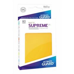 U.Guard Supreme UX Sleeves Standard Matte Yellow (80)
