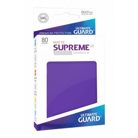 U.Guard Supreme UX Sleeves Standard Matte Purple (80)