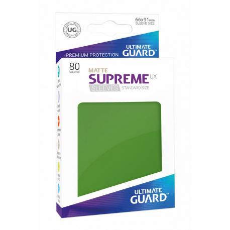 U.Guard Supreme UX Sleeves Standard Matte Green (80)