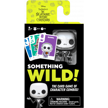 Something Wild Card Game - Nightmare Before Christmas - EN