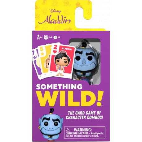 Something Wild Card Game - Aladdin - EN