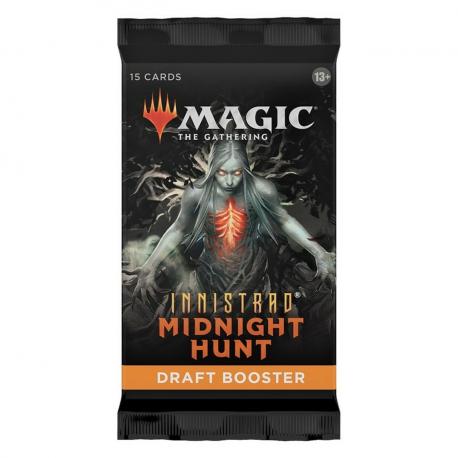 MTG Innistrad Midnight Hunt Draft Booster (36)