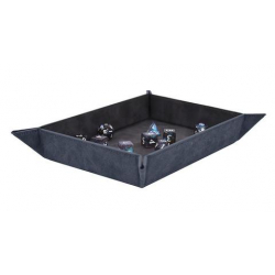 Foldable Dice Rolling Tray Sapphire