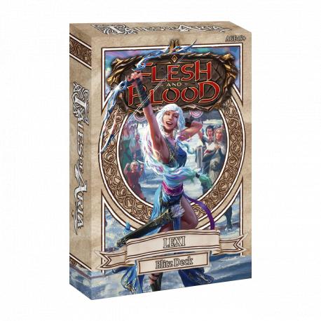 Flesh & Blood Tales of Aria Blitz Deck Lexi