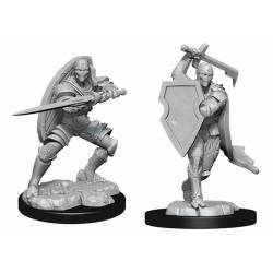 D&D Nolzurs Marvelous Miniatures - Warforged Fighter Male