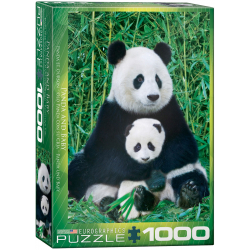 Panda & Baby - 1000pcs