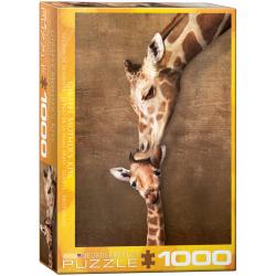 Giraffe Mothers Kiss - 1000pcs