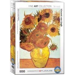 Twelve Sunflowers by van Gogh - 1000pcs