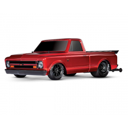 Drag Slash: 1/10 Scale 2WD Drag Racing Truck RED