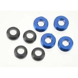 Aluminum Caps Pivot Ball Blue
