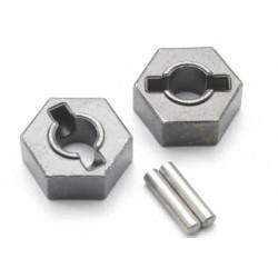 Wheel hubs, hex (steel) 14mm