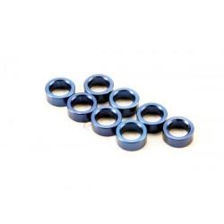 Spacer, pushrod (aluminum, blue)