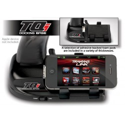 Docking base, TQi 2.4 GHz transmitter (iPod/iPhone compat
