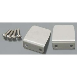Trim tab (2)/ 4x12mm BCS (stainless) (4)