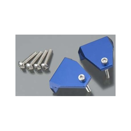 Trim tab adjuster (2)/ 4x16mm BCS stainless (4)/ 3x18m