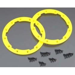Sidewall protector, beadlock style (yellow) (2)