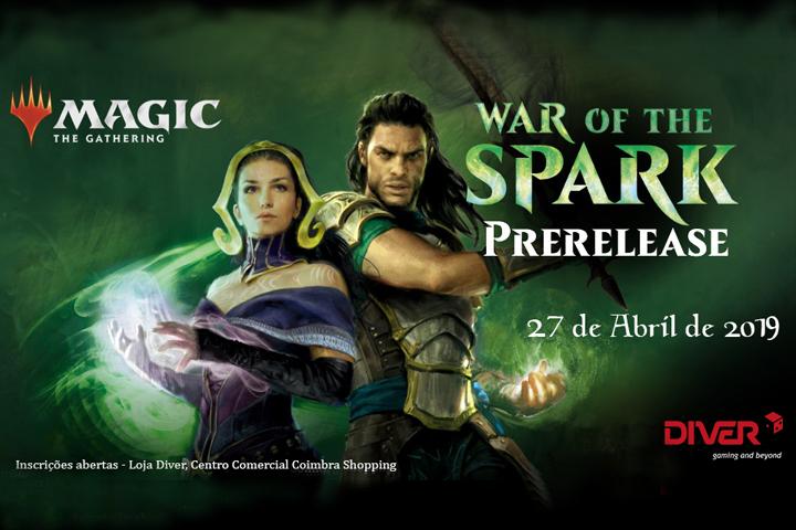 MTG War of the Spark PreRelease